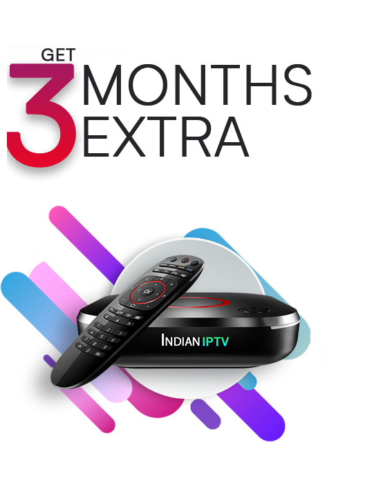 Get 3 Month Extra Subscription on Indian IPTV Set-top box