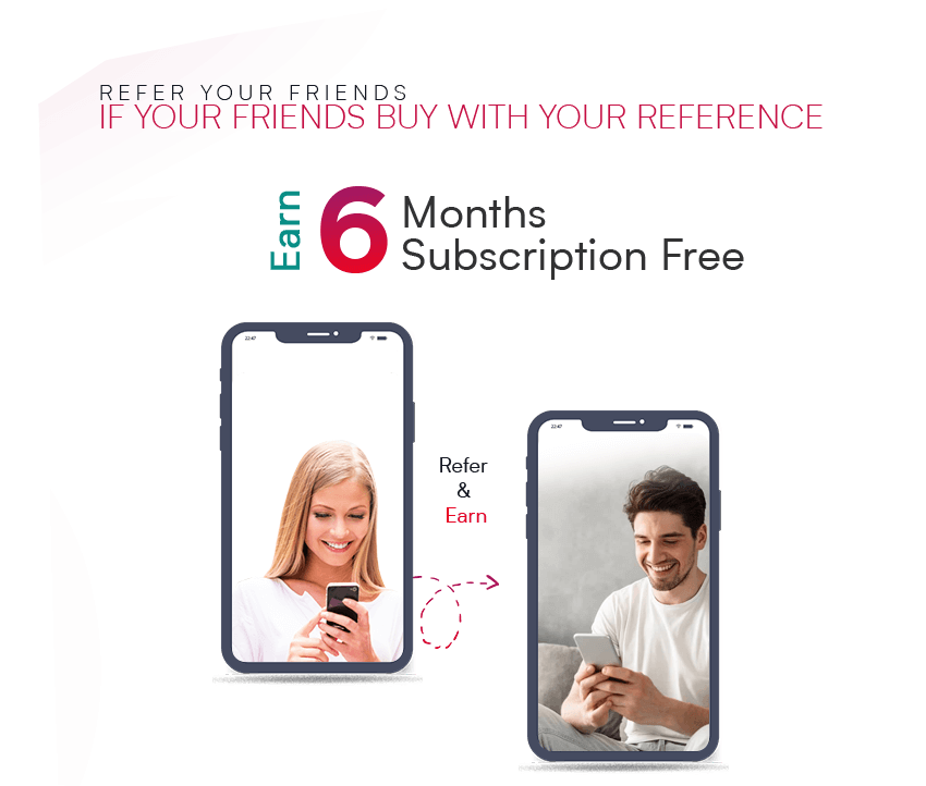 Refer Your Friends and get 6 Months IPTV Subscription Free